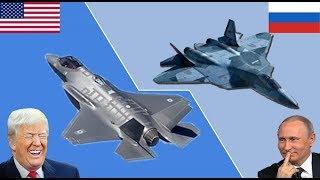 F-35 vs С-300, С-400, С-500. У Су-57 нет шансов.
