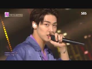 [28.10.18] Inkigayo @ Lee Hong Gi - COOKIES (ft. Lee Seung Hyub)