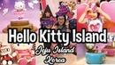 What it's like at Hello Kitty island | Jeju Island, South Korea the Hello Kitty Cafe