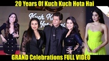 20 Years Of Kuch Kuch Hota Hai GRAND Celebrations FULL VIDEO SRK, Kajol, Rani, Kareena, Jhanvi