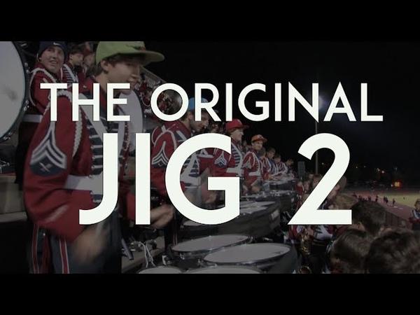Oak Mountain High School Drum Line - The Original Jig 2 - October 28, 2011