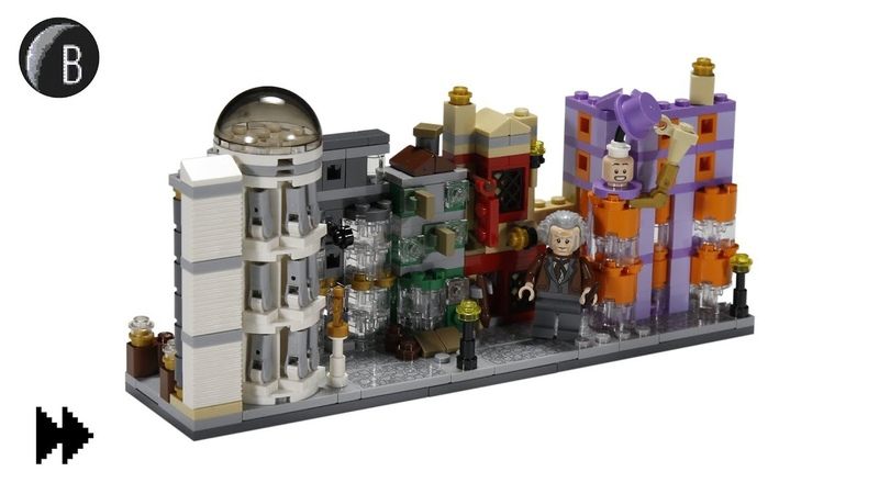 LEGO Diagon Alley - Harry Potter - Speed Build - Set 40289