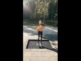 Опасный трюк в исполнении тупой дефки