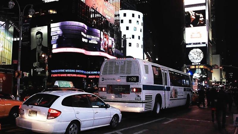 Ночная прогулка. Нью Йорк. Manhatten.