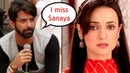 Barun Sobti MISSES Sanaya Irani while shooting for Iss Pyaar Ko Kya Naam Doon 3