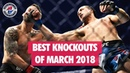 Best MMA Knockouts of March 2018