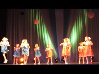 Танец Вася-Василёк 8 группа