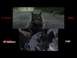 Pet Sematary (1989_2019) side-by-side comparison
