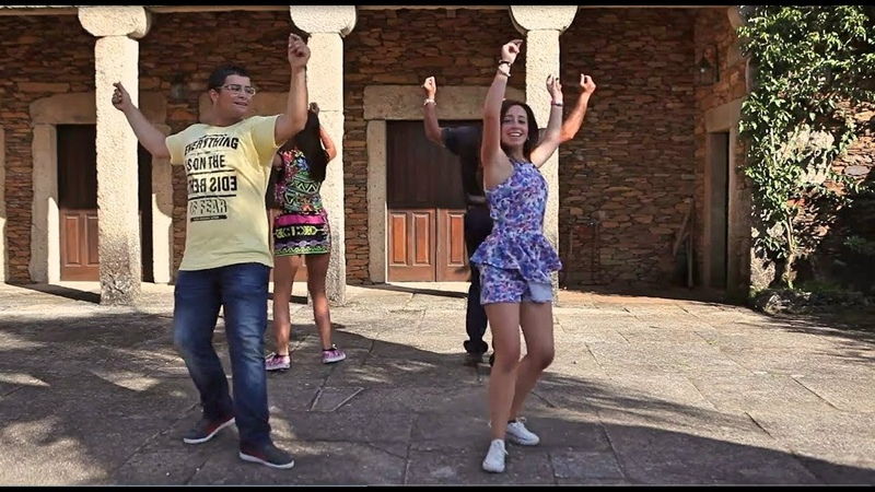 Estes 4 Deram Espectáculo a Dançar a Gota!