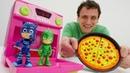 Giocattoli all´asilo- Una nuova macchina per bambini- PJMasks episodi