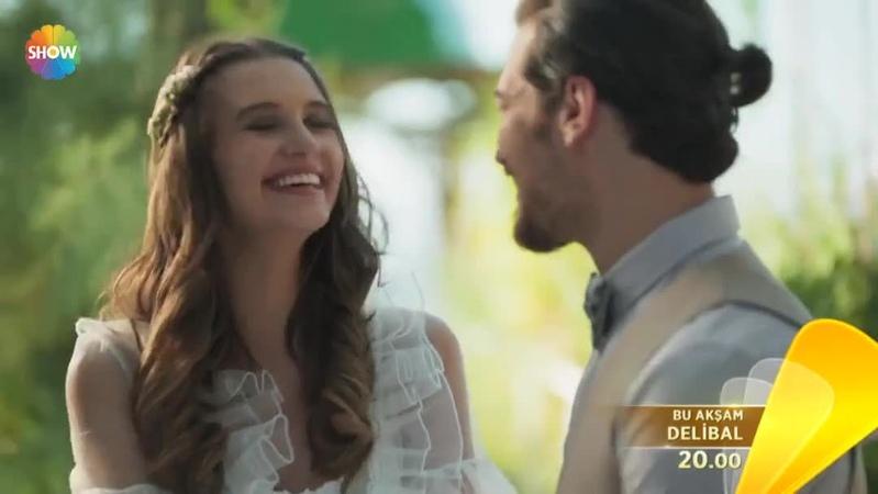 """Show TV on Instagram Çağatay Ulusoy ve Leyla Lydia Tuğutlu'dan tutkulu bir aşk hikayesi… DeliBal bu akşam 20 00'de Show TV'de """""""