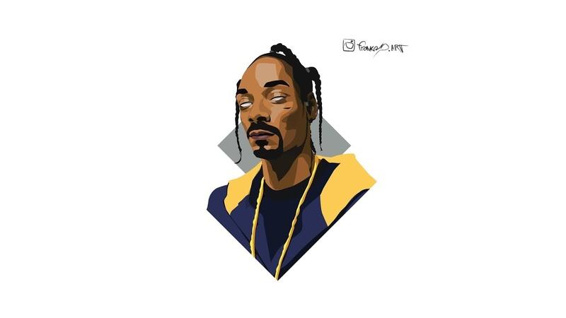 Frankad digital art - Snoop Dog