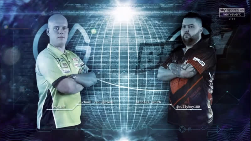 2019 Premier League Week 1 van Gerwen vs Smith
