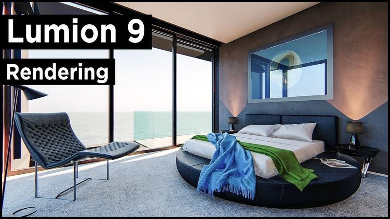 Lumion 9 Pro Bedroom Rendering Tutorial (Photo-Realistic)