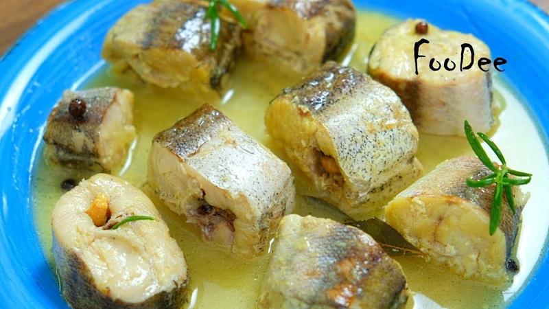 Самый нежный и вкусный минтай Рыба тает во рту Очень простой и быстрый рецепт