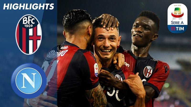 Bologna 3-2 Napoli   Bologna Score Last-Gasp Winner In Incredible Game   Serie A