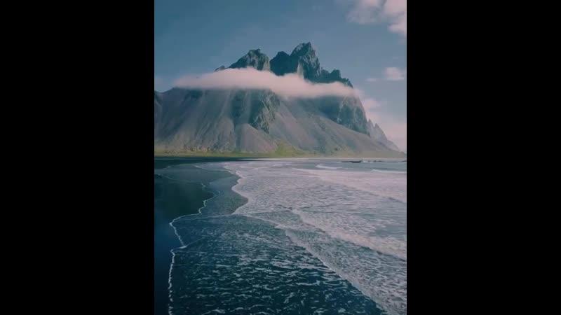 Полёты над Исландией