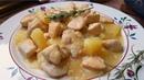 Pollo con piña fácil y rápido ¡ Disfruta la receta