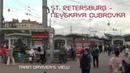 - Nevskaya Dubrovka Train Driver's View ( Cab ride ) Russia