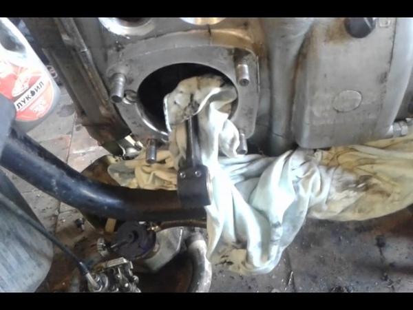 Самодельная развертка для втулок из п.пальца, мотоцикл урал.