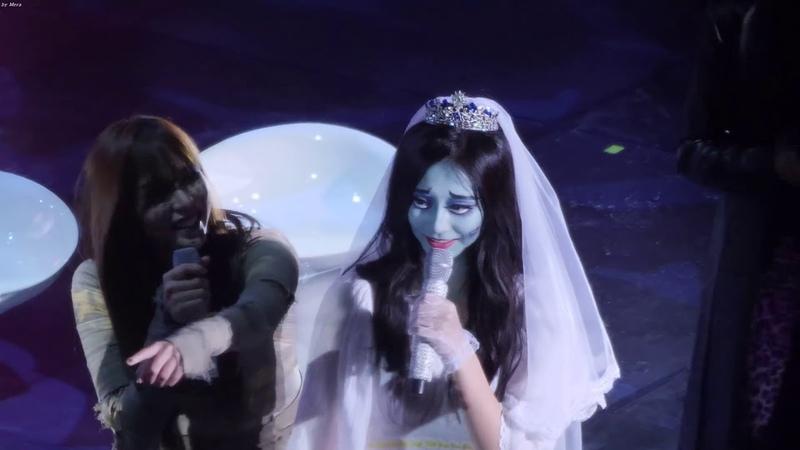 트와이스(TWICE) 퀴즈 조원 뽑는 쯔위 Tzuyu,Mina 정연 4K 직캠 Fancam 윈스 할로윈 팬미팅