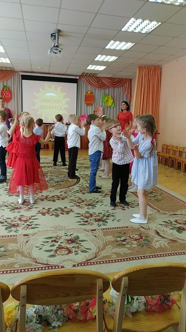 Пасхальный концерт в детском саду № 56