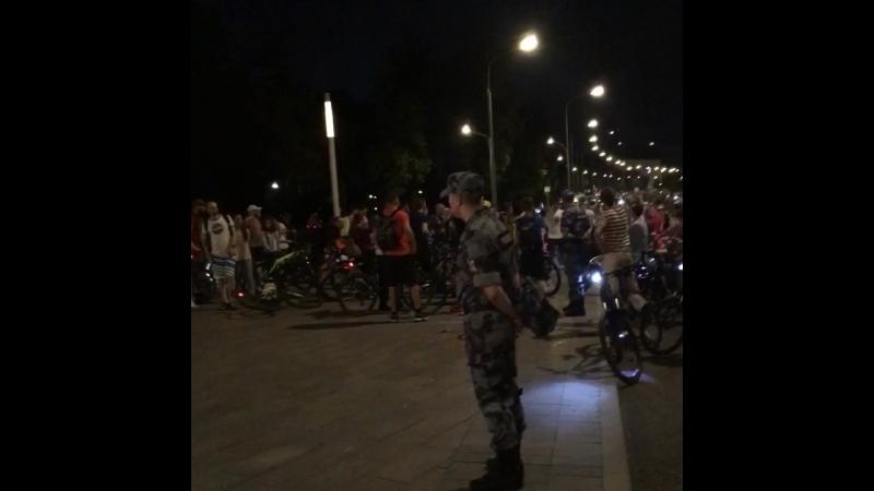 Ночной московский велопарад 2018 5