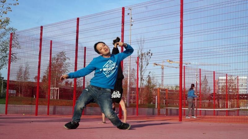 Танцы в Москве — Дракон и Bboy Twisty