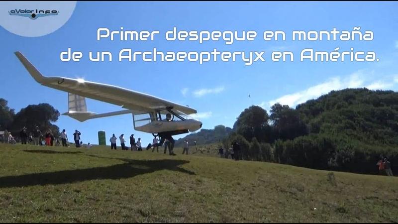 Primer despegue Archaeopteryx en Latinoamérica - Loma Bola, Argentina