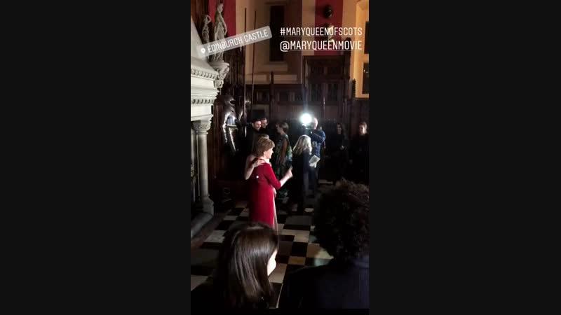 2019 ›› Премьера фильма «Две королевы» в Эдинбурге (14.01)