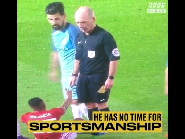 Mike Dean is the gift that keeps on giving...