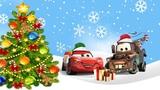 Молния Маквин мультик. Детские новогодние песенки. Песня Елочка Тачки 4 игрушка #маквин #елочка