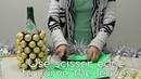 DIY Holiday Gifts Ferrero Rocher Pineapple