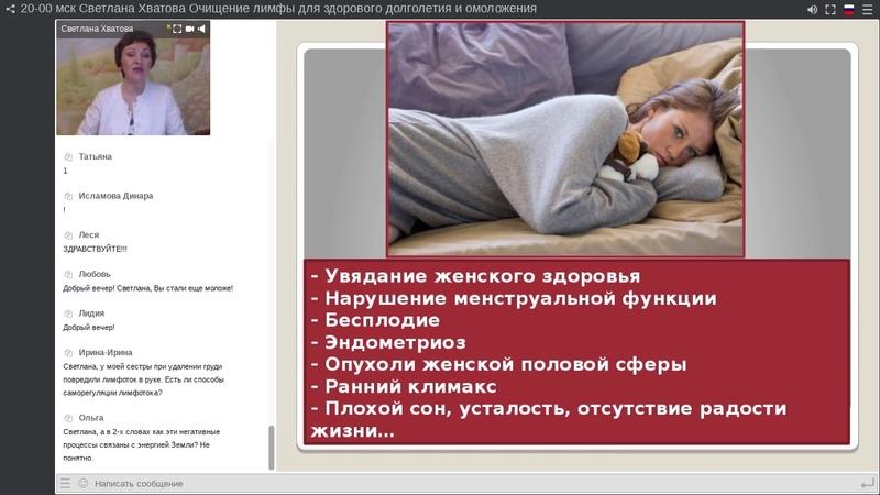 Светлана Хватова. Очищение лимфы для здорового долголетия и омоложения