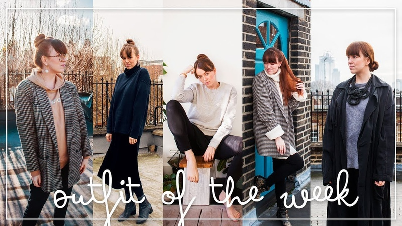 Lookbook OUTFIT OF THE WEEK | Tragbare coole Outfits für Arbeit, Alltag Uni