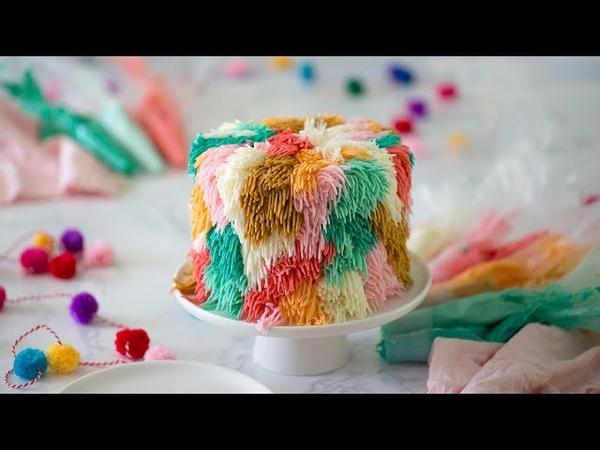 Мохнатый тортик