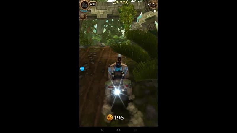 RR 11, 3 раз, уровень 18 L, бег ранер, Лара крофт, RELiC RUN Lara croft, mobile game, android ios, планшэт tablet смартфон