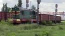 Тепловоз ЧМЭ3 4167 на ст Кишинёв CME3 4167 at Chisinau station