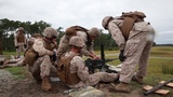 US Marines Firing The Powerful M2 Machine Gun MK 19 Grenade Launcher 777