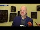 Евроделегация посетила художественный музей в Донецке