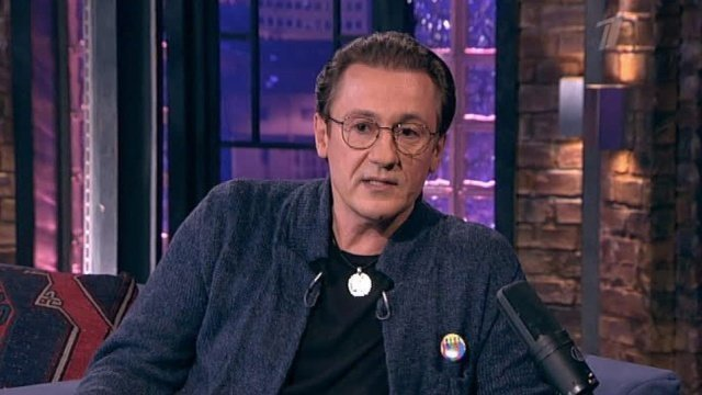 Олег Меньшиков – Вечерний Ургант (07.12.2012)