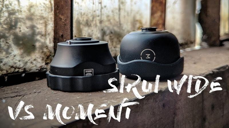 Sirui Wide Angle Lens vs Moment Wide Angle - Epic Battle - Filmed on Google Pixel 2 XL