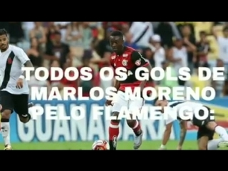 Todos os gols de Carlos Moreno pelo Flamengo