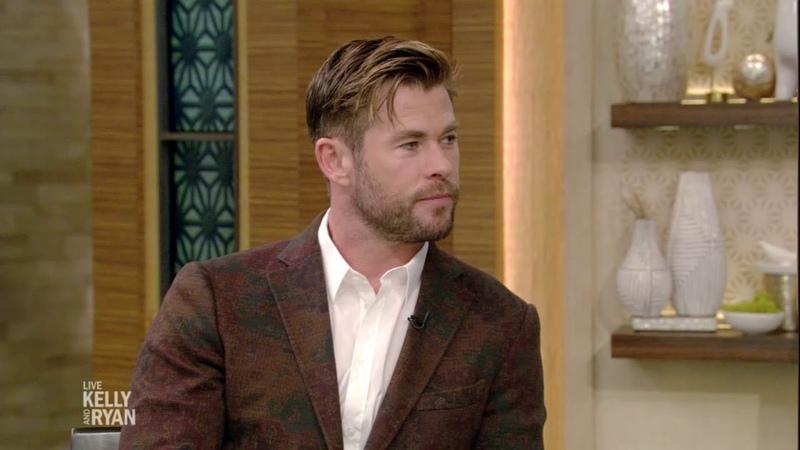 Chris Hemsworth Thinks He Is Mom's Favorite