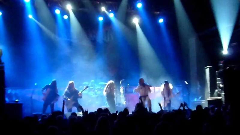 Korpiklaani - Ievan Polkka (live Pratteln 2012-10-22)
