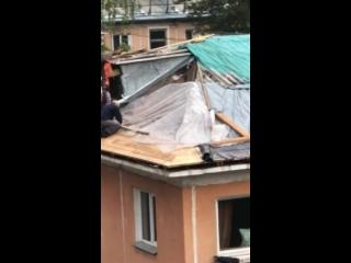Крыша на скотче