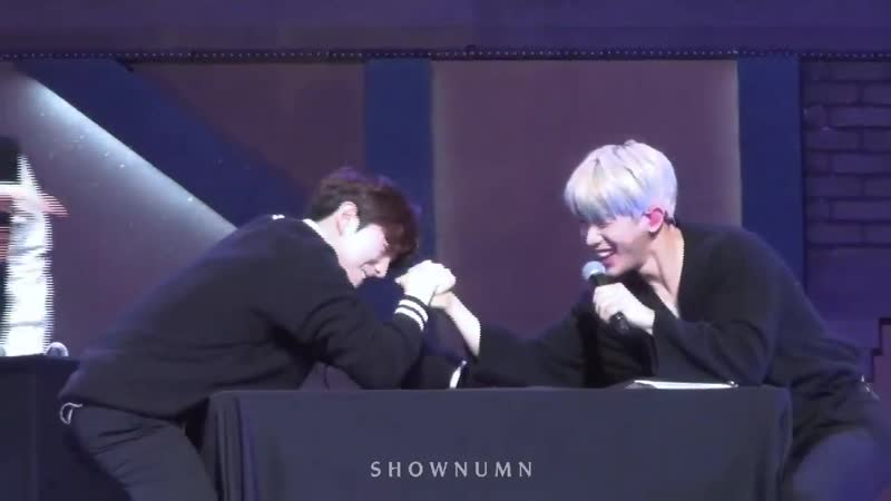 [VK][190105] MONSTA X fancam - Game (Wonho focus) @ Fan-Con MX KINGDOM with Monbebe