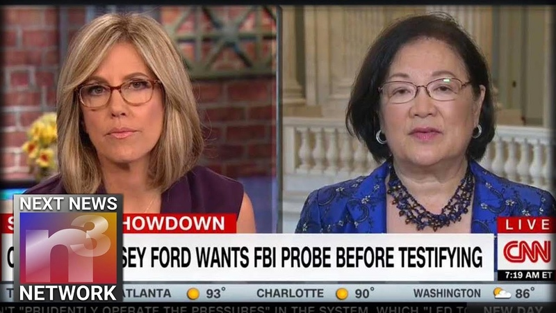 Democratic Senator Furious After Republicans Offer Kavanaughs Accuser Opportunity To Testify