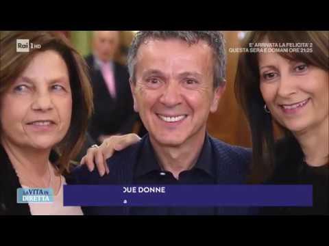 Pupo e le sue donne: Ho due mogli. Vi spiego come ho fatto... - La Vita in Diretta 20/02/2018