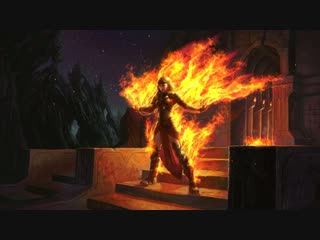 Magic: The Gathering - Chandra Roaring Flame